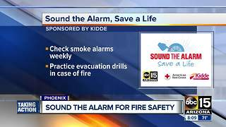 Sound the alarm for fire safety! - Video