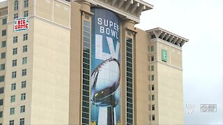 Tampa Bay preapares for home super bowl