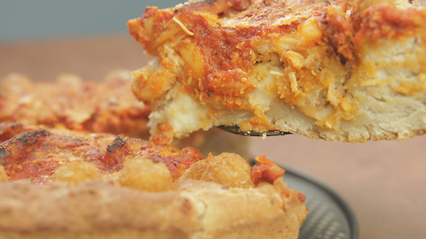 Deep Dish Appetizer Pizza