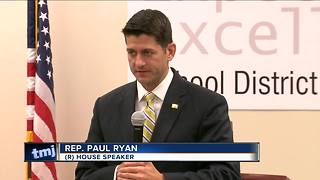 Speaker Ryan visits students in New Berlin, tours high school - Video