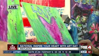 National Inspire your Heart with Art Day - Video