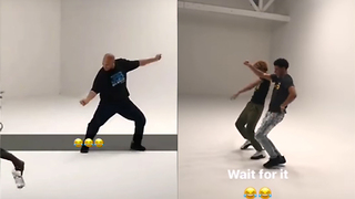 Lonzo, LaVar & LaMelo Ball Dance to Michael Jackson and Hit the Quan on Instagram Live - Video