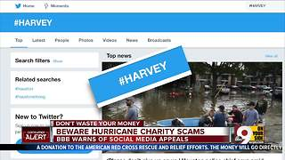 How to avoid a Hurricane Harvey charity scam - Video