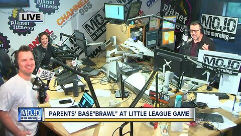 Mojo in the Morning: Parents' base'brawl' at Little League game