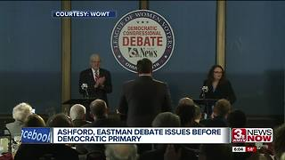 Ashford, Eastman spar in first debate