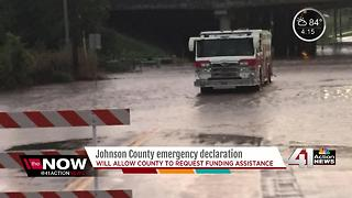 Johnson County issues disaster declaration after storms and flooding - Video