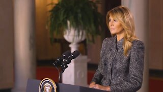 Farewell message from Melania Trump