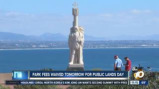 National Parks free on Saturday
