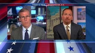 NBC's Chuck Todd discusses Parkside shooting, Russian indictments and Trump with Charles Benson - Video