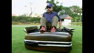 Suitcase-Shaped Car - Video