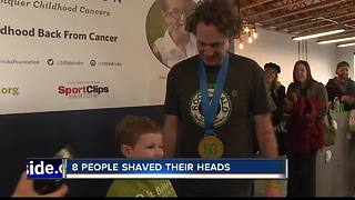 Boise residents shave head for good cause - Video