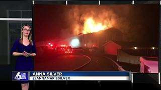 Caldwell apartment fire displaces 18 families - Video