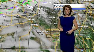 Mild across southern Idaho today but a pesky breeze keeps it feeling chilly - Video
