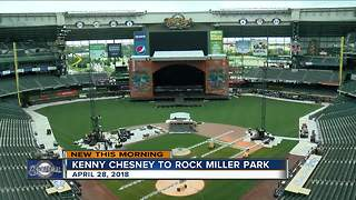 Kenny Chesney concert scheduled at Miller Park this Spring - Video