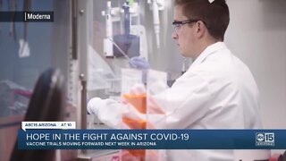 Hope in the fight against COVID-19