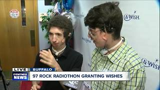 97 Rock and Make-a-Wish team up to grant wishes - Video