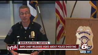 IMPD chief releases video update on officer-involved shooting, department use of force policy - Video