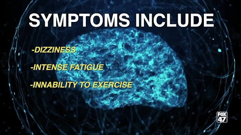 Dizziness, intense fatigue and an inability to exercise
