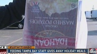 Feeding Tampa Bay feeds Bay area families - Video
