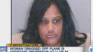 Woman dragged off Delta flight was a U of M assistant professor - Video