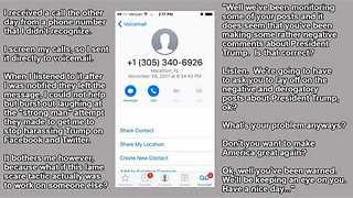 People Receive 'Robocalls' About Anti-Trump Posts Thanks to Prank Call Company - Video