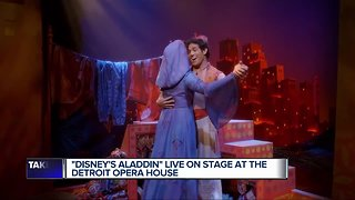 """Disney's Aladdin"" Live on stage at the Detroit Opera House"