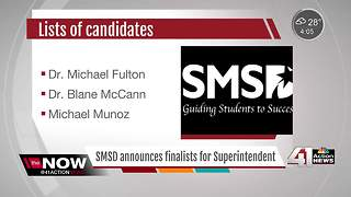 SMSD announces finalists for Superintendent - Video