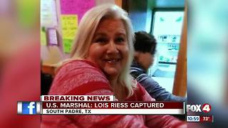 Fugitive Lois Riess arrested in Texas - Video