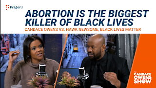 Candace Owens Debates Black Lives Matter Activist Hawk Newsome On Abortion