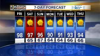 Sunny weekend ahead in the Valley