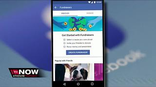 Facebook to allow personal fundraisers - Video