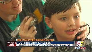 Stylist helps boy with autism conquer his fear - Video