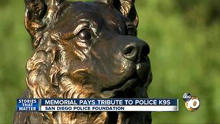 Memorial Pays tribute to Police K9's