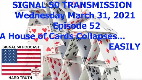 A House of Cards Collapses... EASILY!!!