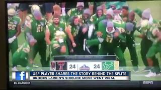 USF player story behind the splits - Video