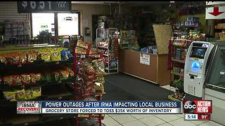 Hurricane Irma's Impact On Small Businesses Cuts Deep Into The Community. - Video