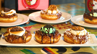 Your Favorite Girl Scout Cookies Are Now Donuts - Video