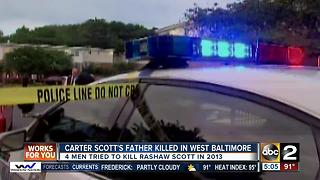 Father of Carter Scott murdered in W. Baltimore - Video
