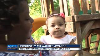 Positively Milwaukee Awards deadline coming up - Video
