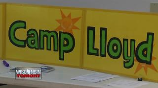 Camp Lloyd helps grieving children - Video