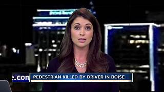 Pedestrian killed in Boise crash - Video