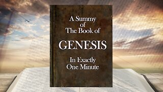The Minute Bible - Genesis In One Minute
