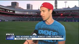 Free, positive community workout comes to Buffalo - Video