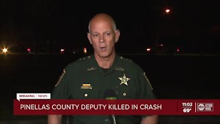 Pinellas deputy killed after he was hit by suspected drunk driver, says sheriff
