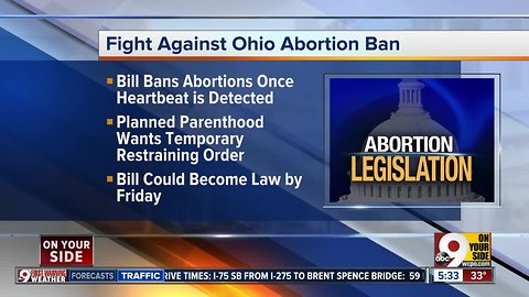 Heartbeat abortion bill case in federal court today