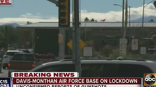 Davis-Monthan Air Force Base on lockdown - Video