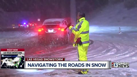 AAA offers tips to Las Vegas drivers unfamiliar with snowy conditions