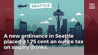 Seattle's Sugary Drinks Tax Sends Prices Soaring - Video