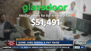 Some jobs that are seeing pay raises - Video