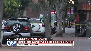 Search continues for gunman in Gaslamp Quarter shooting - Video